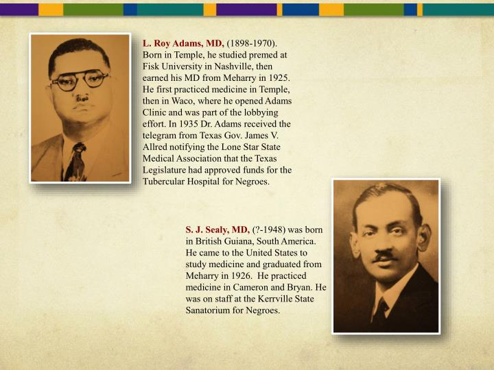 L. Roy Adams, MD,