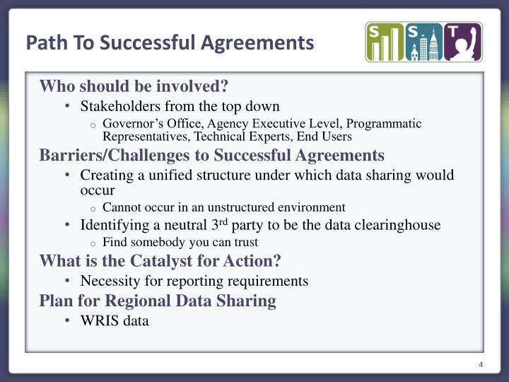 Path To Successful Agreements