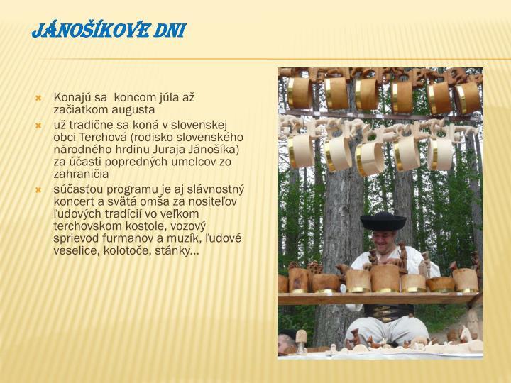 Jánošíkove dni