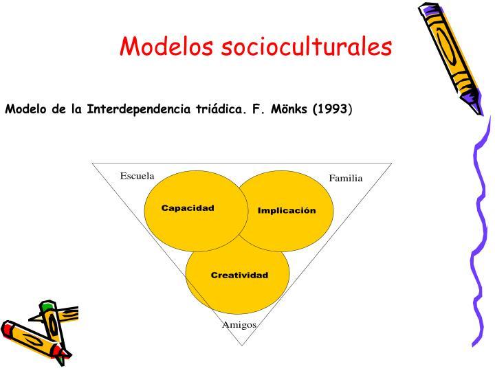 Modelos socioculturales
