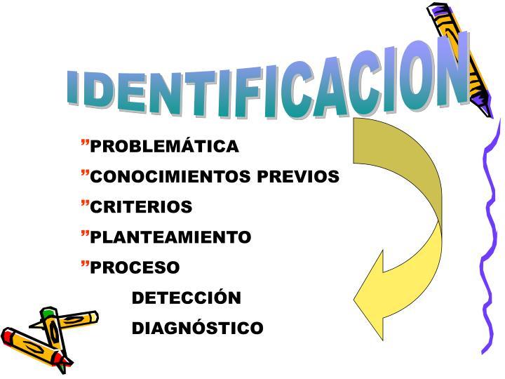 IDENTIFICACION