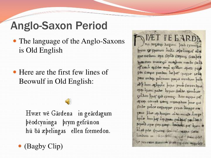 characteristics of men in anglo saxon society as depicted in beowulf