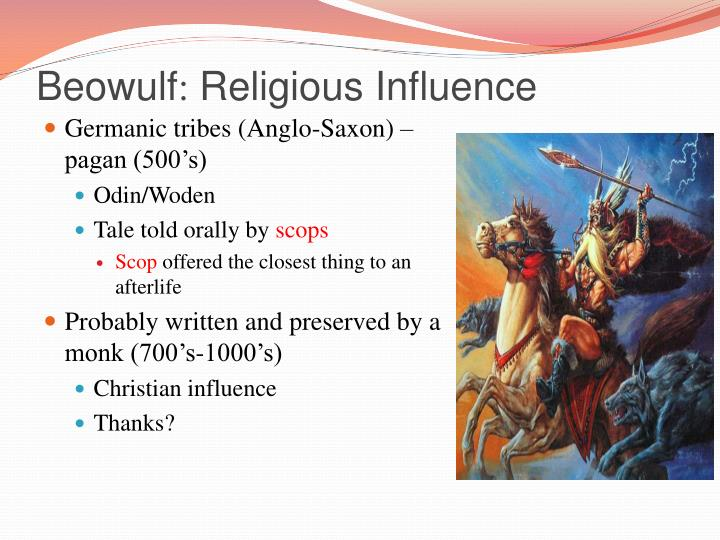 An overview of the topic of the beowulf an anglo saxon epic