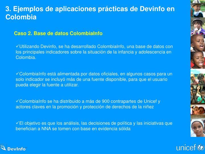 3. Ejemplos de aplicaciones prácticas de Devinfo en Colombia
