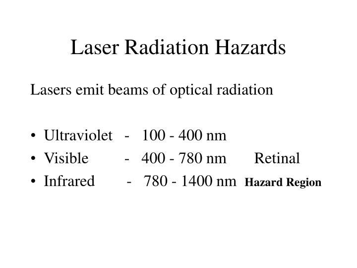Laser Radiation Hazards