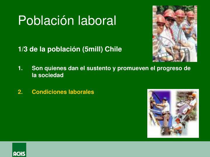 Población laboral