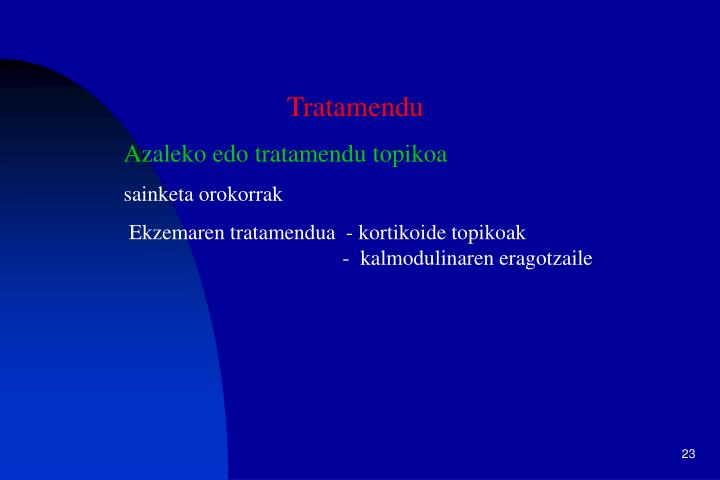Tratamendu