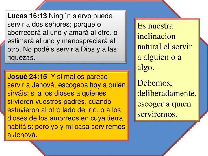 Lucas 16:13