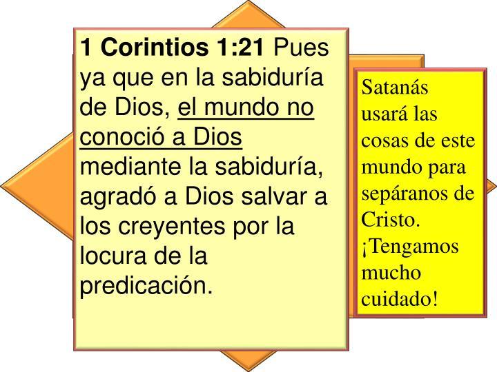 1 Corintios 1:21