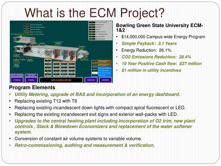 What is the ECM Project?
