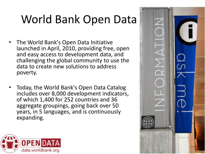 World Bank Open Data Platform