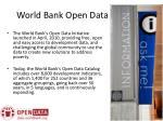 world bank open data platform