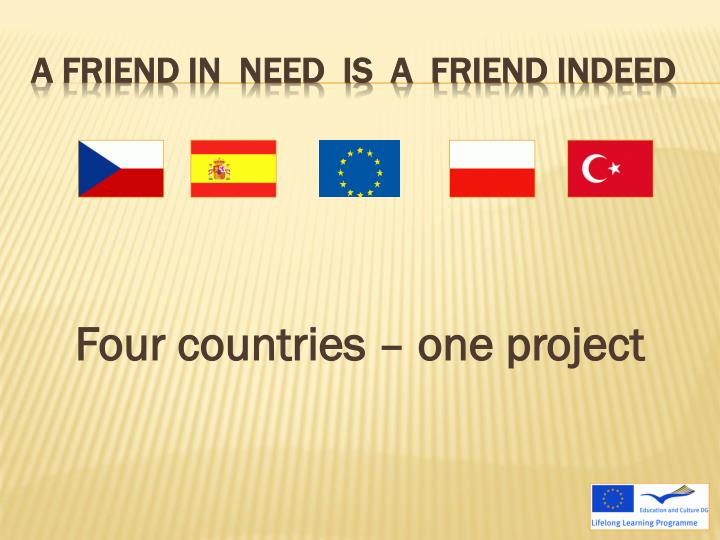 Four countries – one project