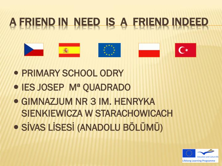 A friend in need is a friend indeed2