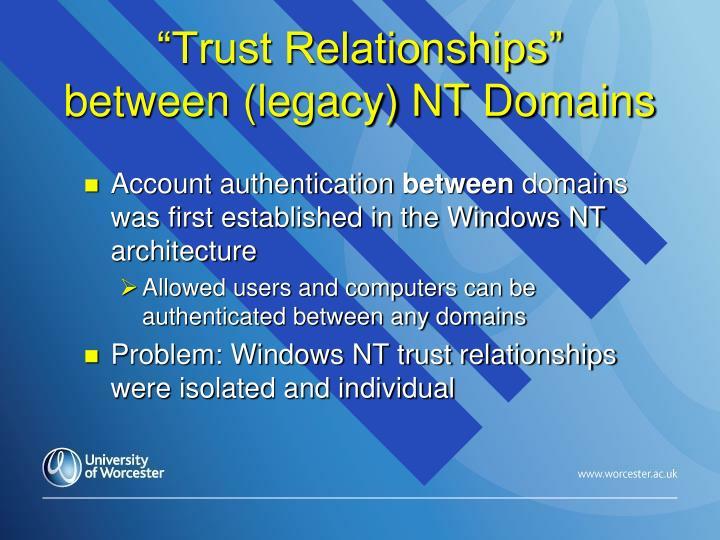 """Trust Relationships"""