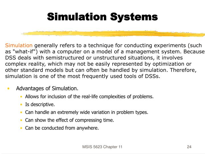 Simulation Systems