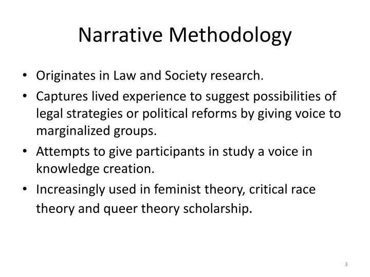 Narrative Methodology