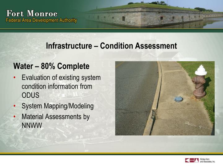 Infrastructure – Condition Assessment