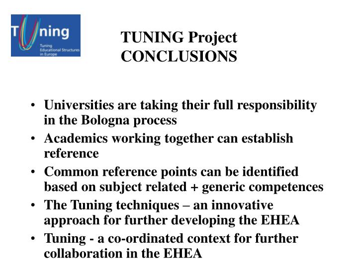 bologna process in the context of In the context of bologna and lisbon, the ideals of lifelong learning, staff-student mobility, mutual recognition and   bologna process is not about taking.