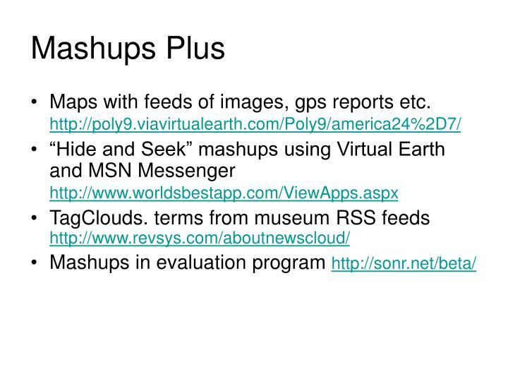 Mashups Plus