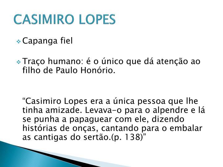 CASIMIRO LOPES