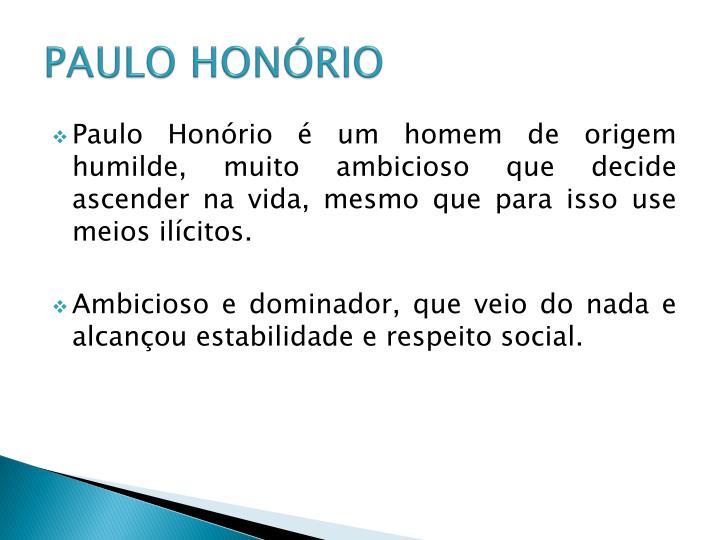 PAULO HONÓRIO