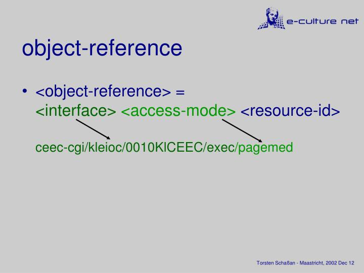 object-reference