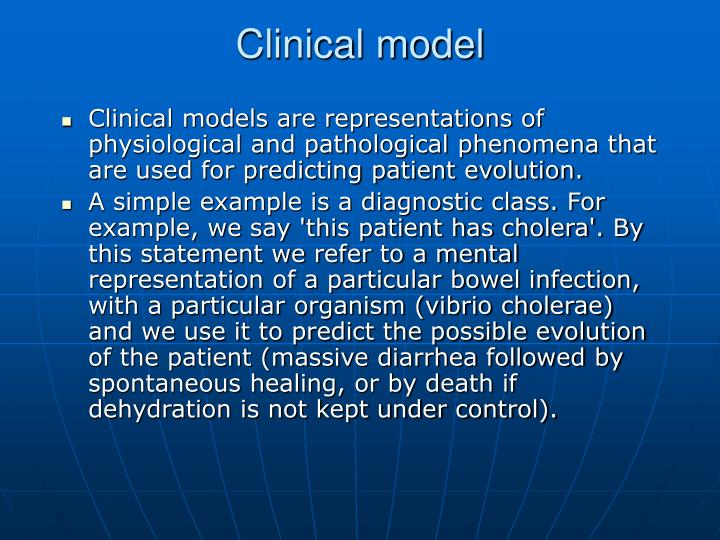 Clinical model