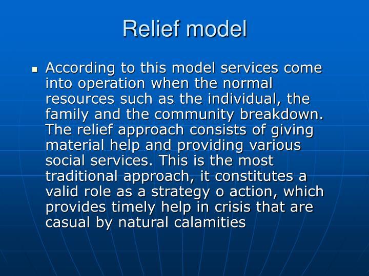 Relief model