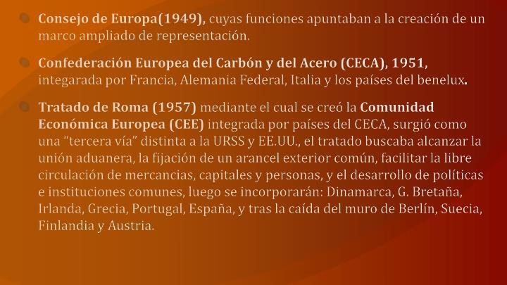 Consejo de Europa(1949),