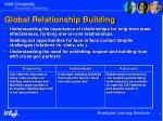 global relationship building