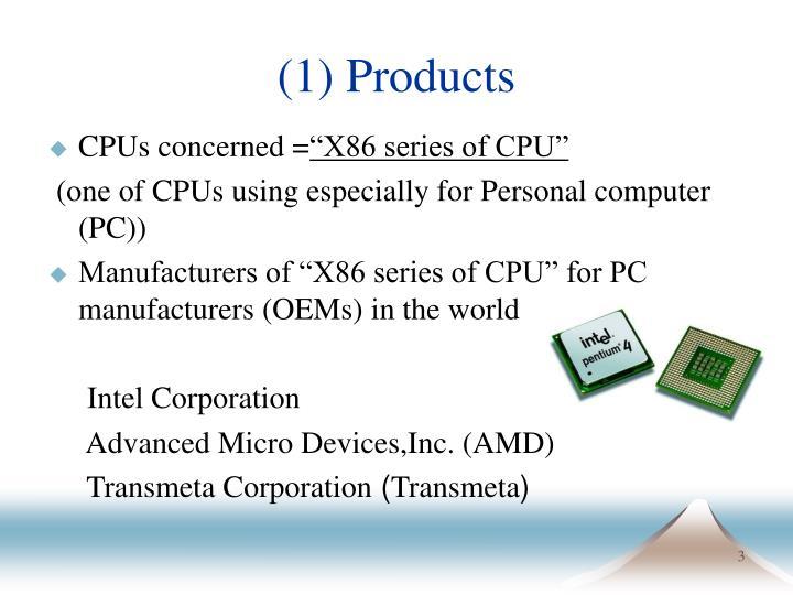 CPUs concerned =
