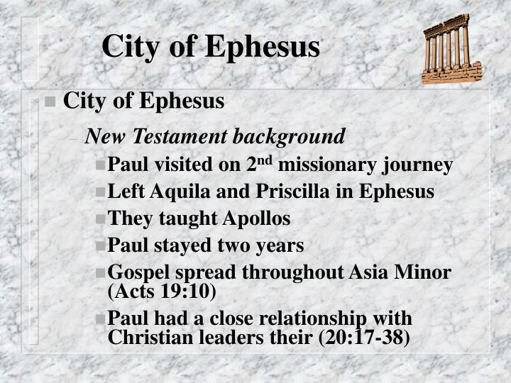 City of Ephesus