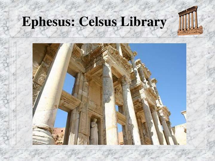 Ephesus: Celsus Library