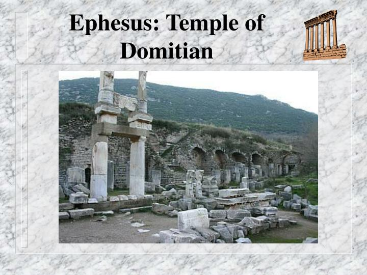 Ephesus: Temple of Domitian