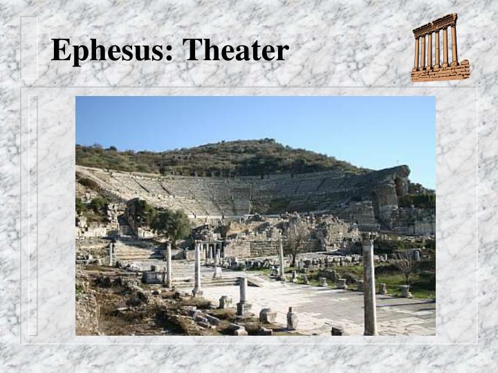 Ephesus: Theater