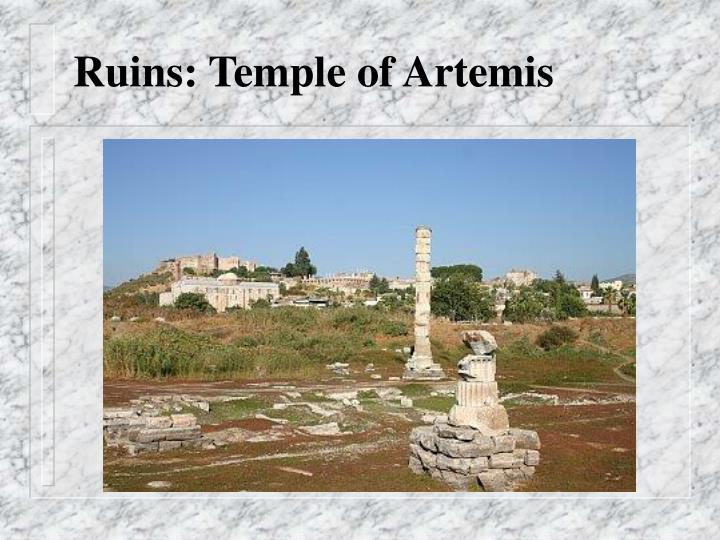 Ruins: Temple of Artemis