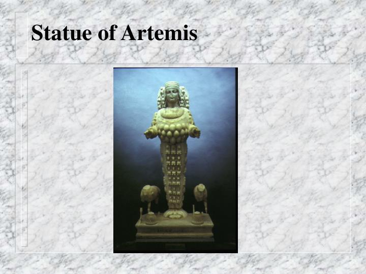 Statue of Artemis