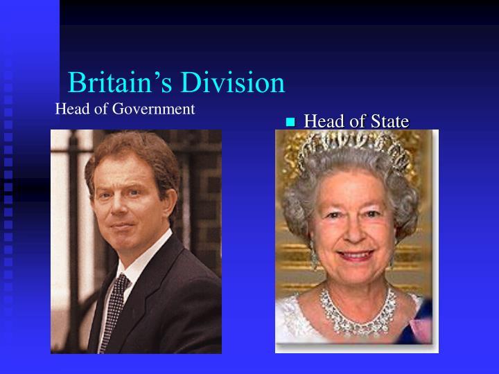 Britain's Division