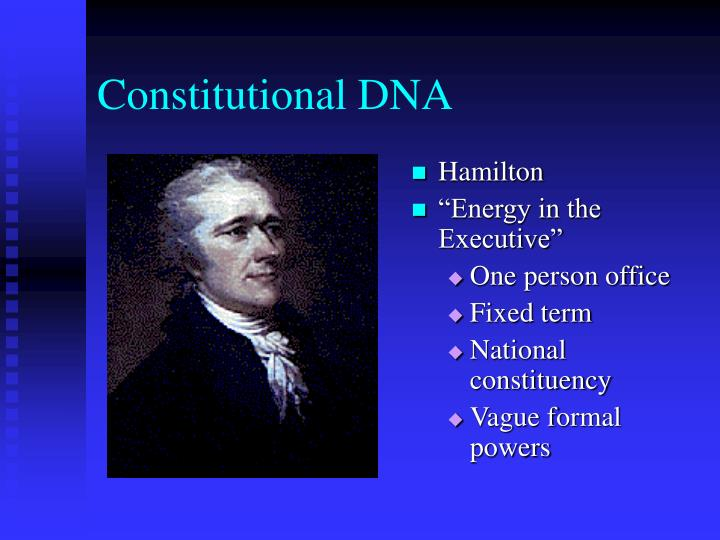 Constitutional DNA