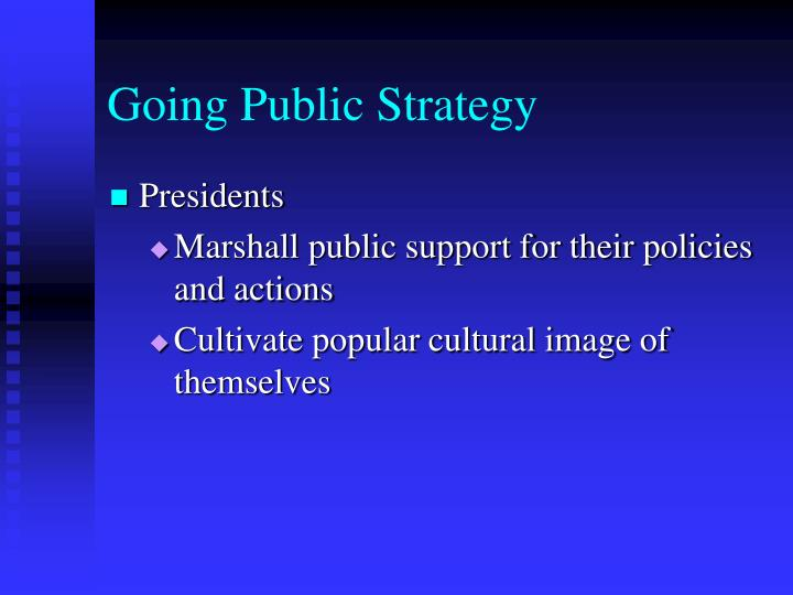 Going Public Strategy