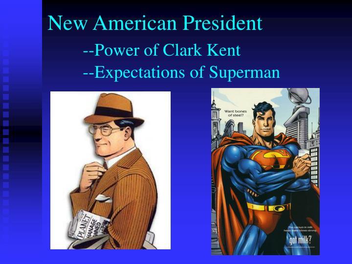 New American President
