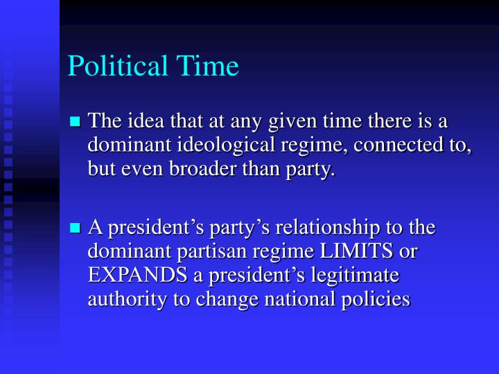 Political Time