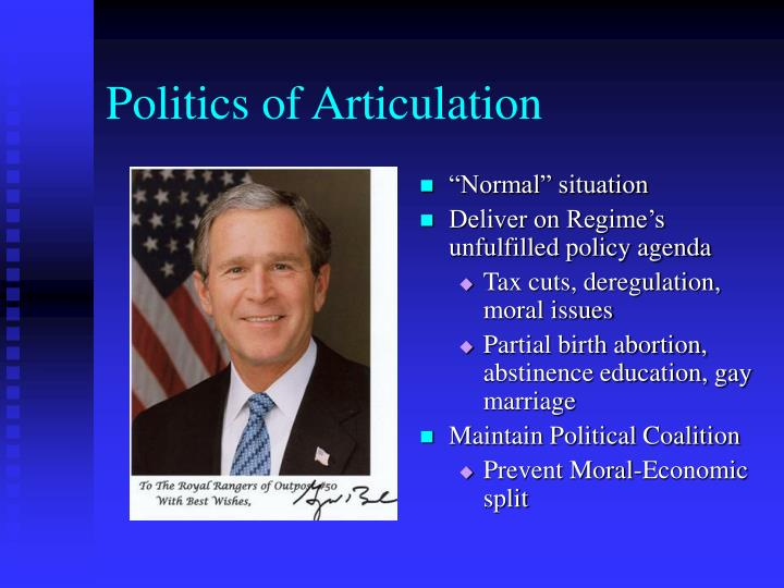 Politics of Articulation