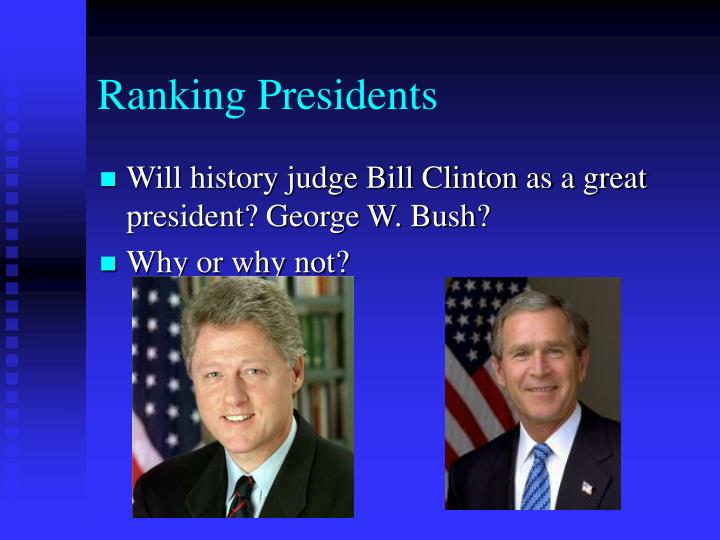 Ranking Presidents