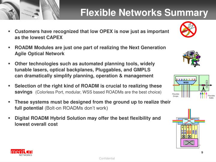Flexible Networks Summary