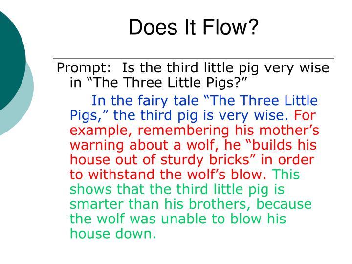 Does It Flow?