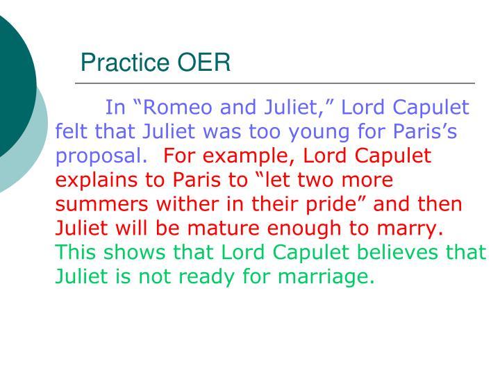 Practice OER