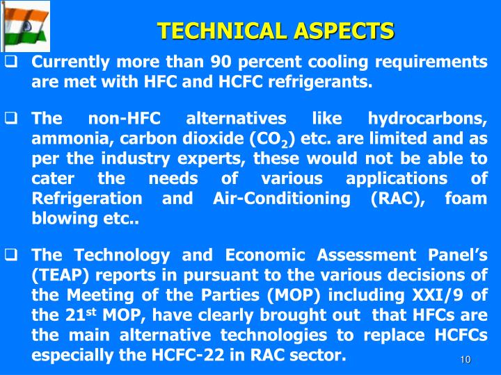 TECHNICAL ASPECTS