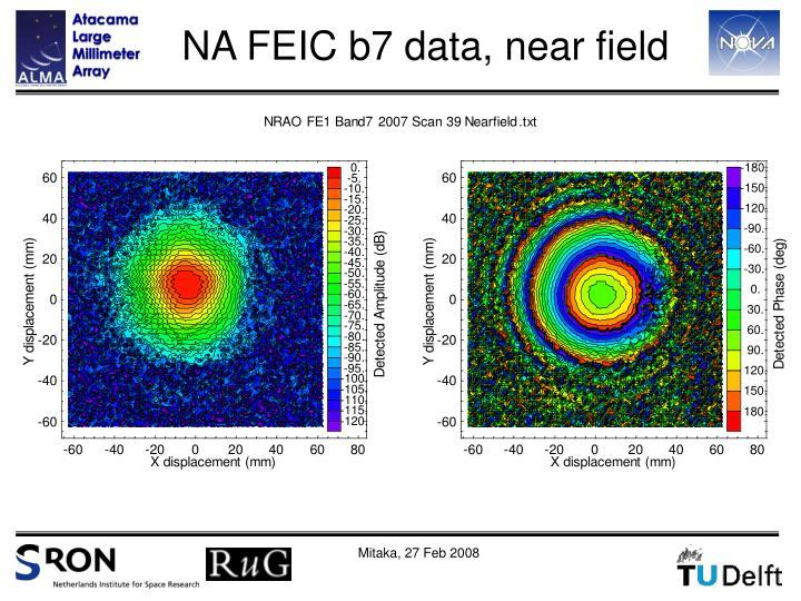 NA FEIC b7 data, near field